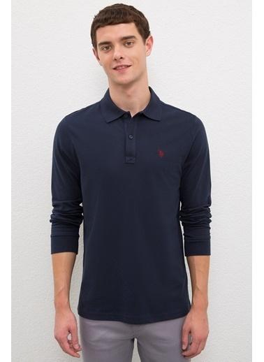 U.S. Polo Assn. US Polo ASSN Erkek Sweatshirt G081GL082 1082611 G081GL082 1082611018 Lacivert
